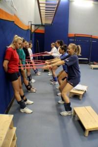 1^DIV.FEMMINILE preparazione atletica 2013