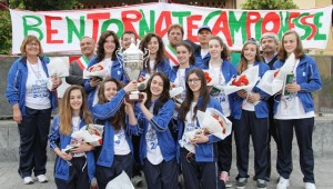 Campionati Studenteschi 2014 - CAMPIONESSE ITALIANE